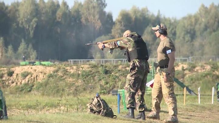 В Смоленской области проходит гвардейский биатлон