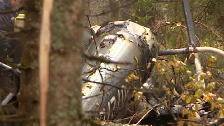 Жители костромской деревни видели, как падал вертолет с замгенпрокурора