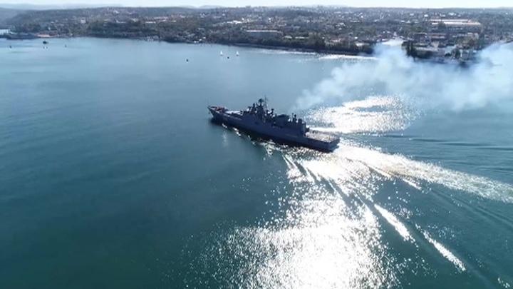 Черноморский флот усилился новым фрегатом