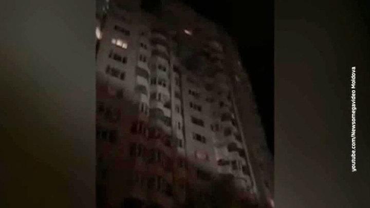 В Кишиневе произошел мощный взрыв в жилом доме, погибли 8 человек