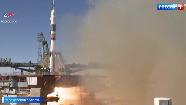 Космонавты с аварийного