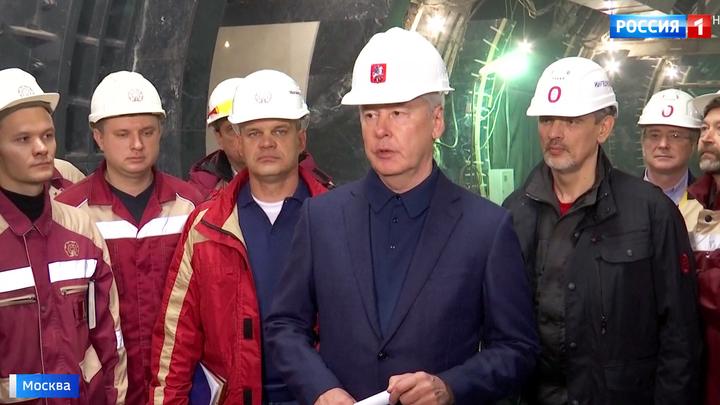 """Станция """"Савеловская"""" Большого кольца метро уже достраивается"""