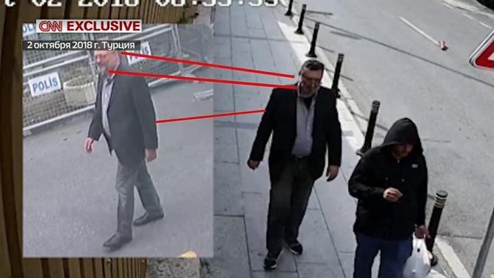 Видео с уличных камер: убийство Хашогги пытались скрыть с помощью двойника