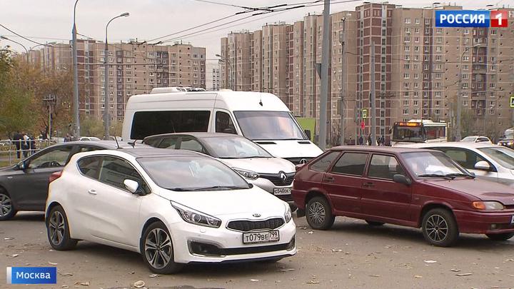 В Новокосине ввели платную парковку, вняв просьбам жителей