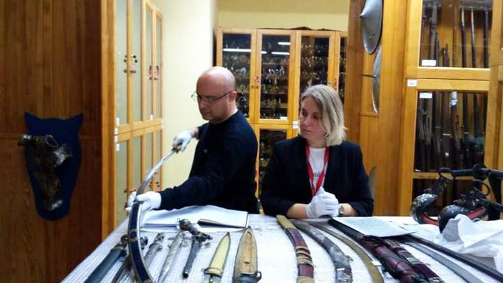Николай Мамулашвили и Виктория Веселицкая (Государственный исторический музей)