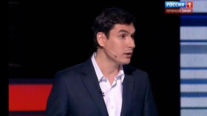 Писатель, депутат Сергей Шаргунов