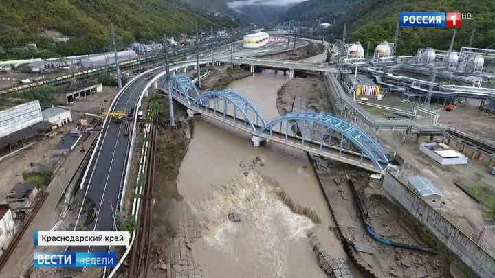 Кубань: разрушенный мост будут восстанавливать полгода