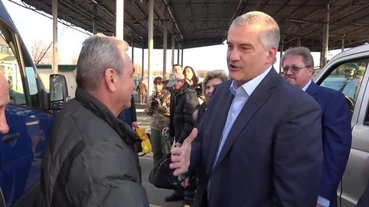 """Моряков """"Норда"""" встретили как героев"""