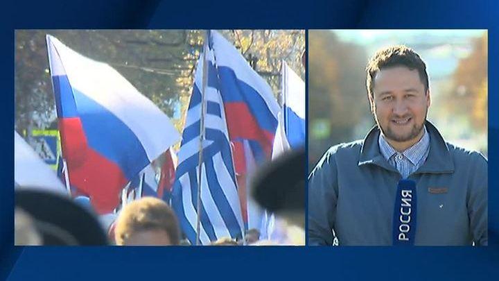 Крым и Севастополь отмечают День народного единства шествием и мотопробегом
