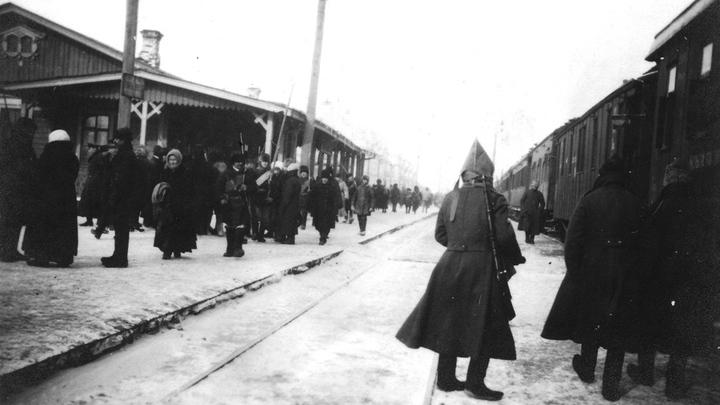 Западный фронт, 12 февраля 1916 года, станция Волочиск…Архив И.Франсуа