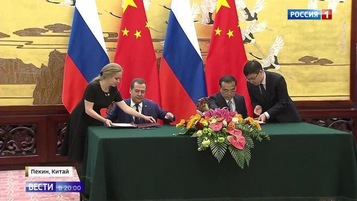 Уникальное партнерство: премьеры России и Китая сверили планы