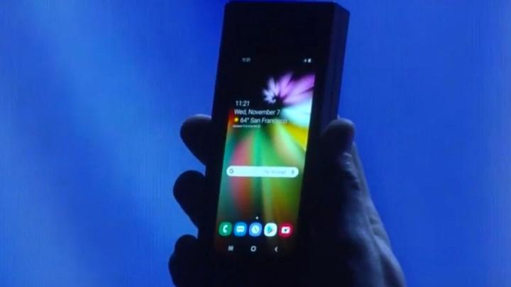 На презентации Samsung для разработчиков, в ходе которой...