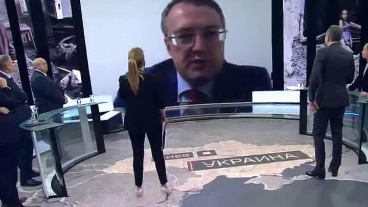"""Антон Геращенко сбежал из эфира программы """"60 минут"""""""