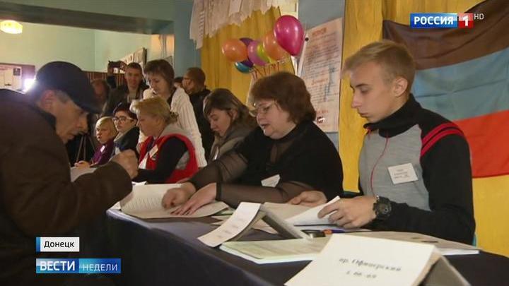 Выборы в ДНР и ЛНР прошли спокойно и без происшествий