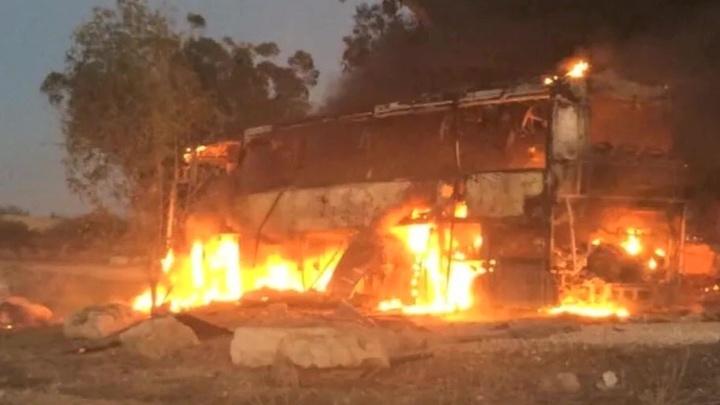 Бомбардировка сектора Газа: есть жертвы