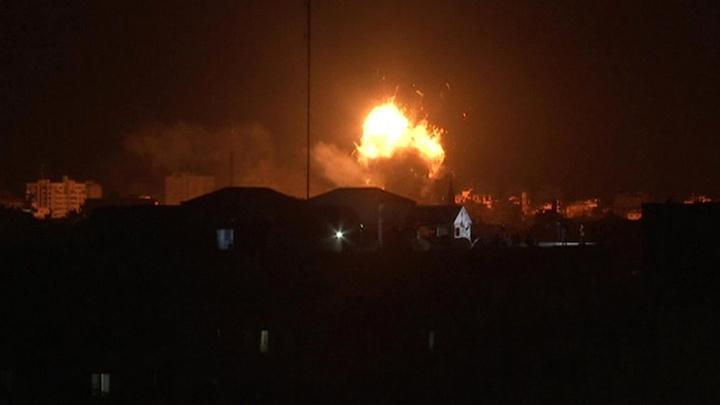 Израиль атаковал 150 целей в секторе Газа