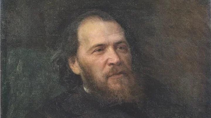 Портрет поэта Якова Петровича Полонского Автор: Иван Николаевич Крамской Создание: 1875 г.