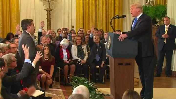 Трамп против CNN: в США раскручивается новый виток скандала