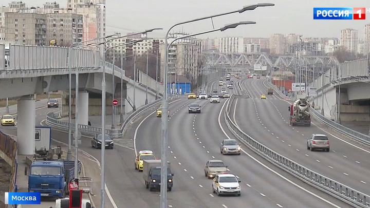Новая эстакада свяжет две ключевые московские трассы