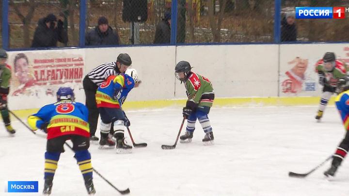 Занята хоккей