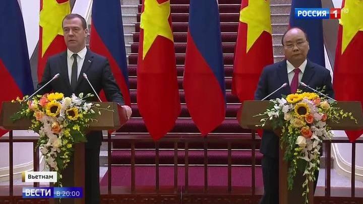 10 миллиардов к 2020 году. Россия укрепляет торговые отношения с Вьетнамом