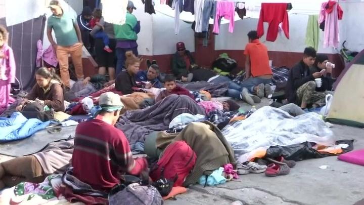 Караван, которого боялись в Америке, стал проблемой Мексики