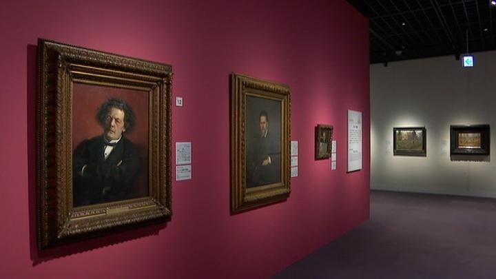 Третьяковская галерея представила выставку картин в Токио