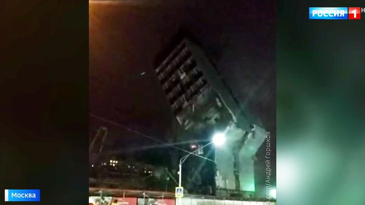 Высотка на улице Красная Сосна рухнула не так, как ожидали строители