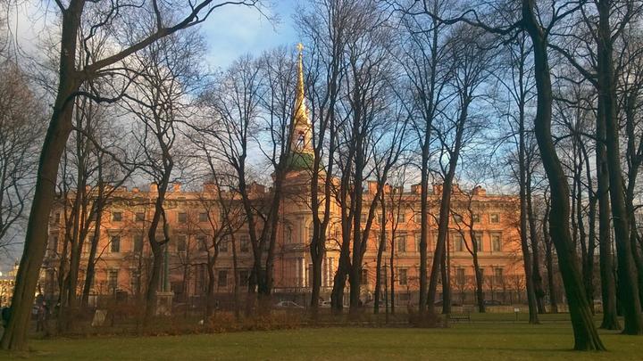 Санкт-Петербург, Михайловский замок, резиденция императора Павла I. Фото Леонида Варебруса
