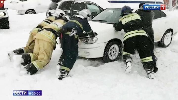Аномальные морозы в России ударили и по людям, и по моржам