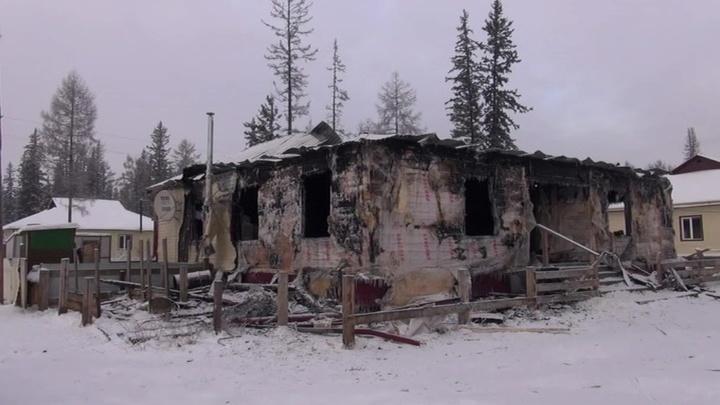 Десятилетний житель Якутии спас четверых детей из горящего дома
