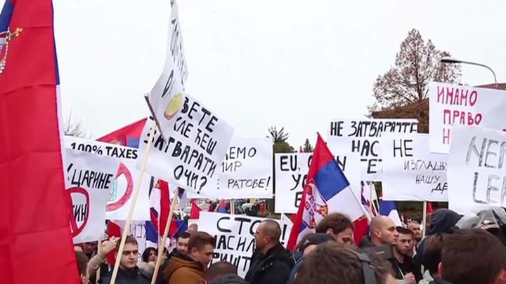 Из-за торговой блокады косовских сербов ждет голод