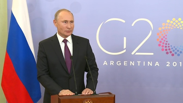 Путин рассказал журналистам о встрече с Трампом и военном положении на Украине