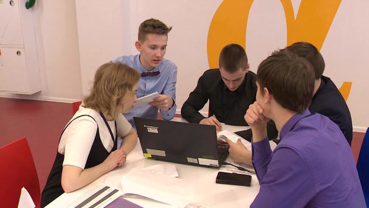"""В """"Сириусе"""" прошел чемпионат по стратегии и управлению бизнесом среди юниоров"""