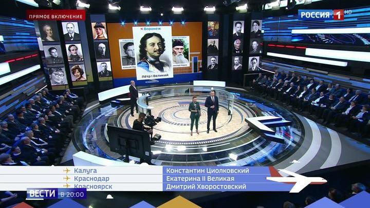 Россияне выбрали великие имена для аэропортов