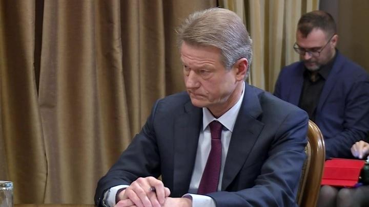 Литовский депутат Европарламента Роландас Паксас провел ряд встреч в России