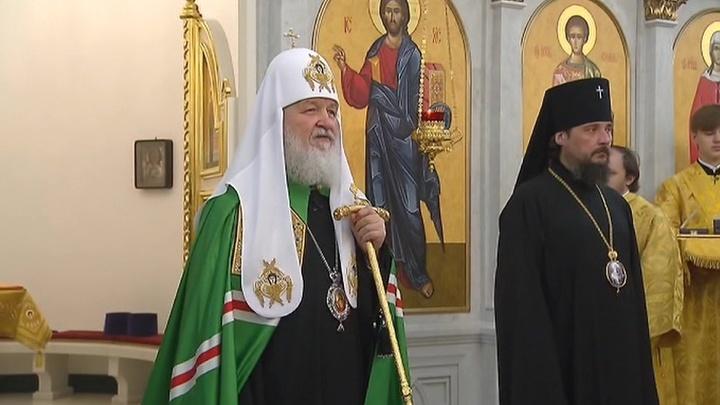 Патриарх Кирилл: раскольники говорят о свете, но пребывают во тьме