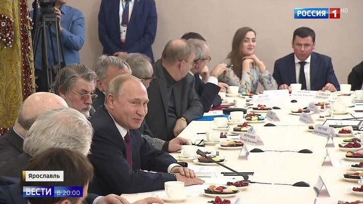 Год театра: Путин дал старт театральному марафону