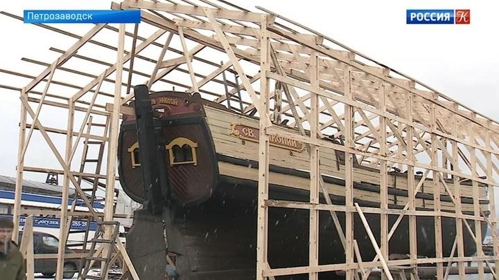 Школа традиционного судостроения и мореходства открылась в Карелии