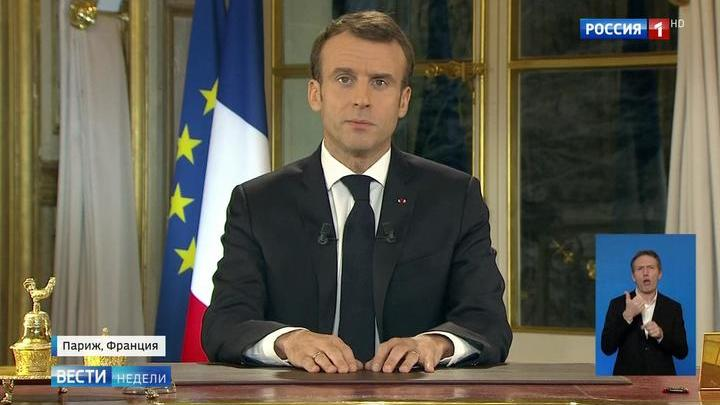 Париж погряз в протестах: Макрону не верят
