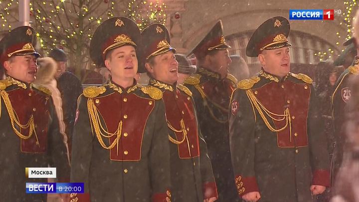 Ансамбль Росгвардии снял клип на песню Last Christmas