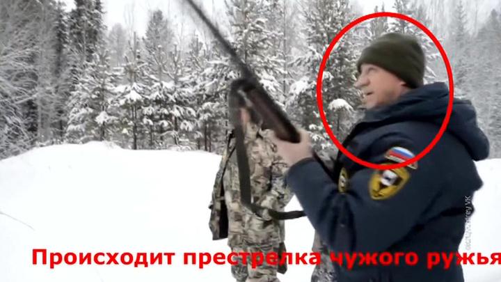 Незаконная охота: губернатор Иркутской области убил спящего медведя