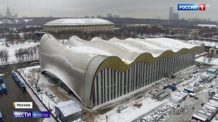 """Центр художественной гимнастики в """"Лужниках"""" станет жемчужиной мирового спорта"""