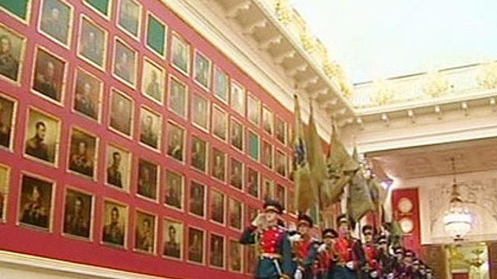 Военная галерея героев 1812 года в Эрмитаже.