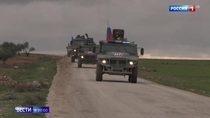 Порядок на сирийско-турецкой границе обеспечивает Россия
