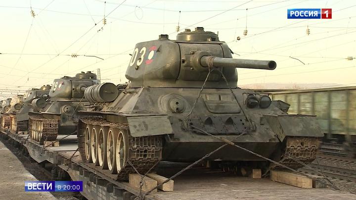 Лаосские Т-34 готовы принять участие в параде Победы