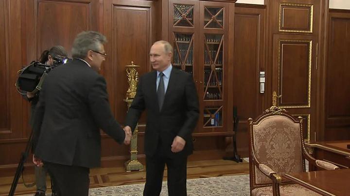 Владимир Путин провел рабочую встречу с Александром Сергеевым