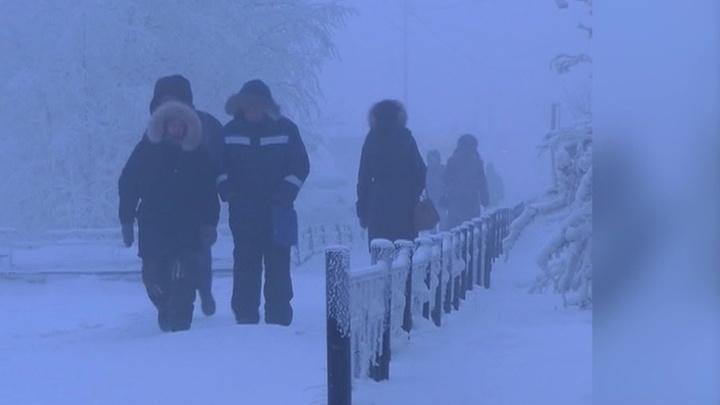 Морозы в регионах России все крепчают