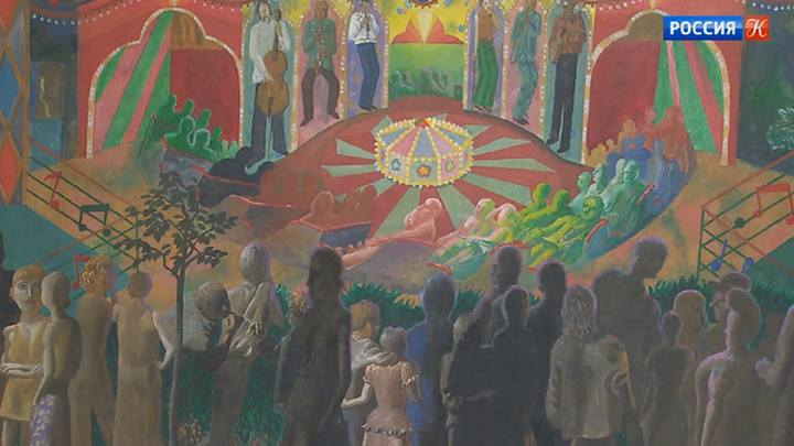 В Новой Третьяковке представлена выставка работ Ивана Николаева