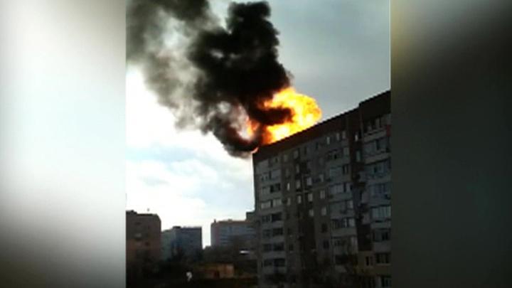 На крыше дома в Крыму взорвались газовые баллоны
